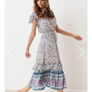 Spell Dahlia Midi Dress
